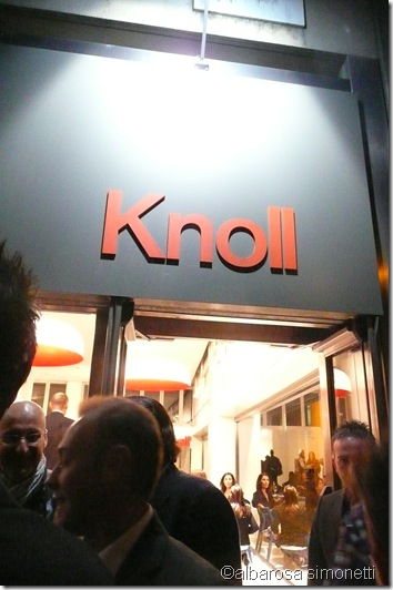 Knoll party I Saloni 2011