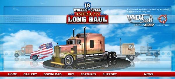 Juegos de Camiones 18 Wheels of Steel America Long Haul