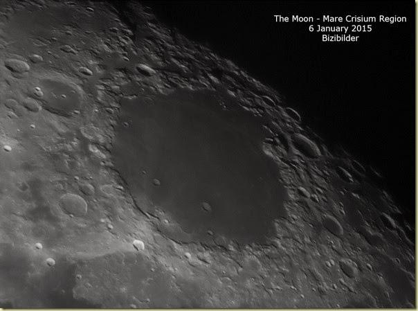 6 January 2015 Moon - Mare Crisium