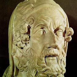 94 - Escuela de Atenas - Retrato de Homero