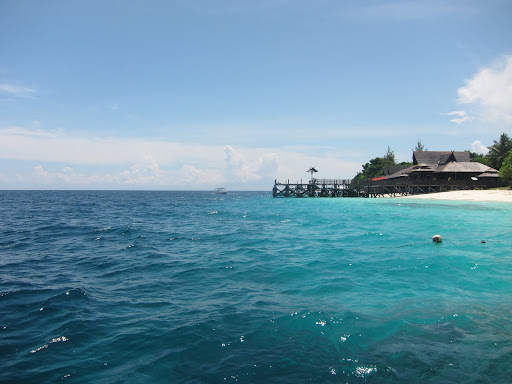 Mataking Island - our day trip destination for awesome diving and snorkeling.