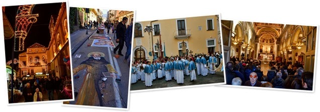 View Festival to honor the patron saint of Sorrento