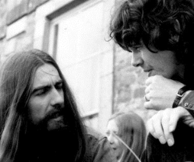 GEORGE HARRISON AND DONOVAN