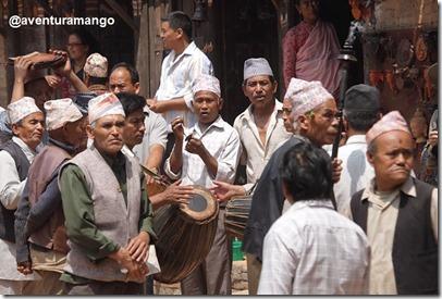 Procissão em Bhaktapur