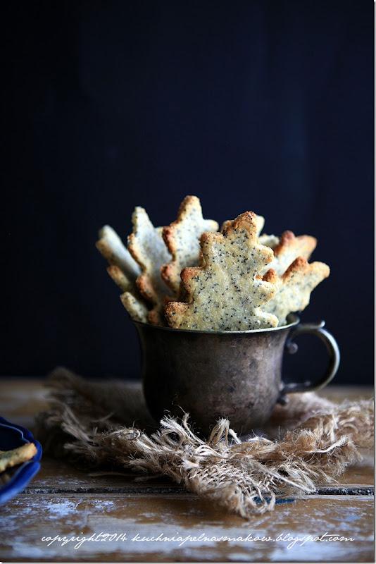 migdałowe ciasteczka z makiem i skórką z cytryny- Sarah Wilson (1)