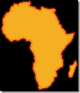africa siloutte