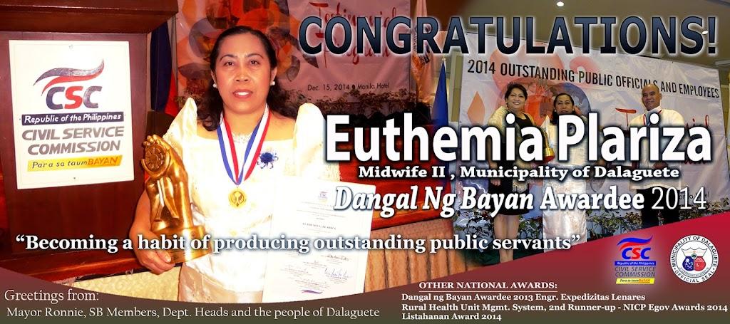 MGD Salutes 2nd Dangal ng Bayan National Awardee