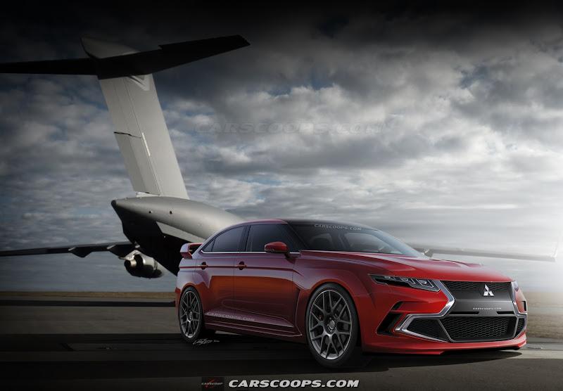 Future Cars Mitsubishis Next Hot Lancer XI EVOlves into Hybrid