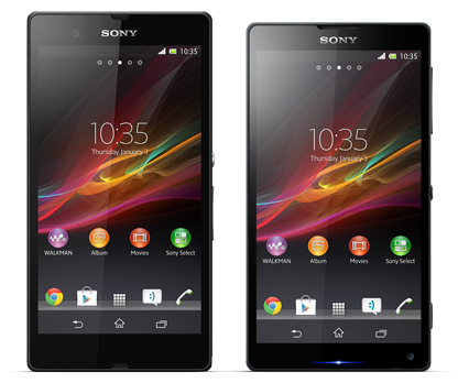 Sony Xperia Z and Xperia ZL Philippines