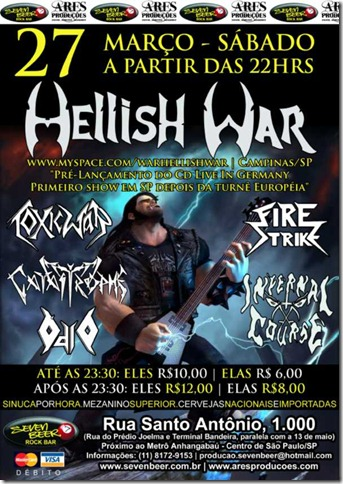 Cartaz Hellish War Seven Beer_Pequeno