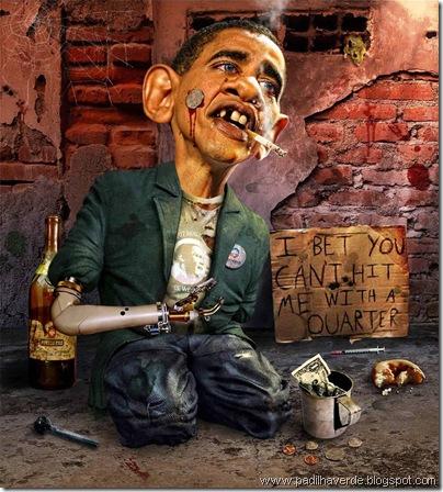 Caricatura Obama