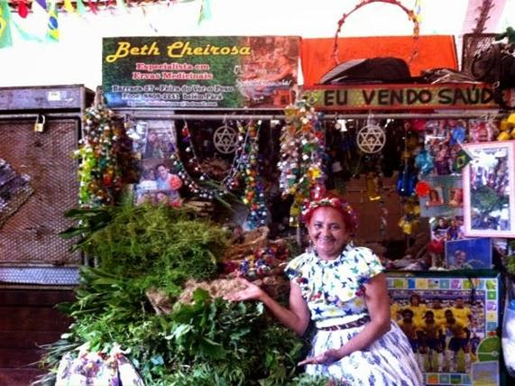 Beth Cheirosa, una delle più antiche mandingueiras - Ver-o-Peso, Parà
