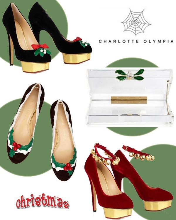 Charlotte-Olympia-Natal-Sapatos-Salto-Alto-Sapatilha-Clutch