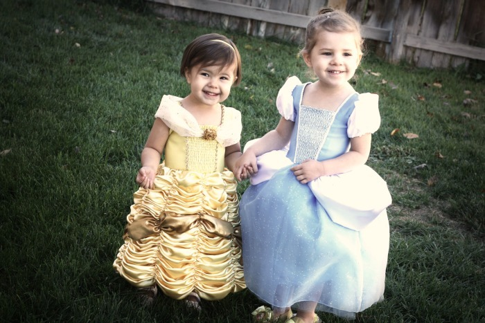 Belle and Cinderella Costumes Free Pattern
