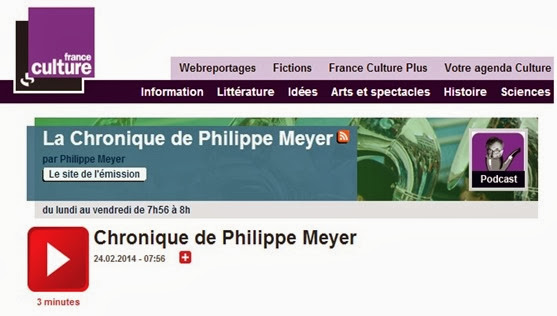 Philippe Meyer cronica del 24 de febrièr Pesticidi
