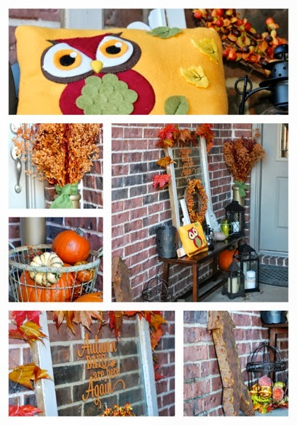Fall Porch Details