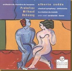 Prokofiev Sinfonía Clásica Zedda