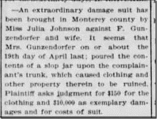 Gunzendorfer Lawsuit SC Sentinenel May 30 1897 page 3