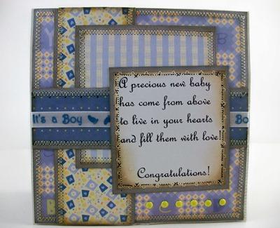 Baby & Blanket Card1
