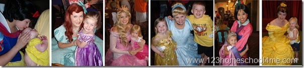 best place to meet Princesses at Disney World