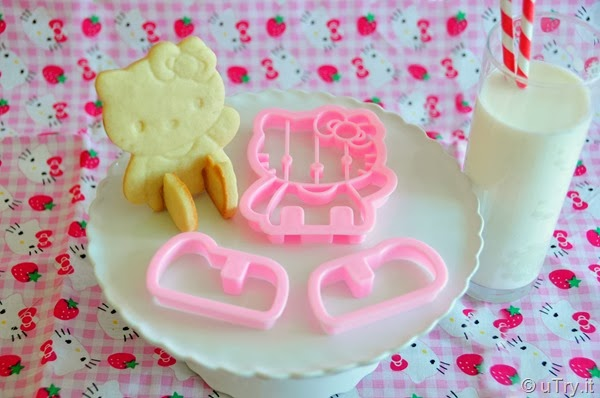 Hello Kitty 3D Butter Cookies