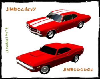JimboChevy1970 e JimboDodge (Jimbo) lassoares-rct3