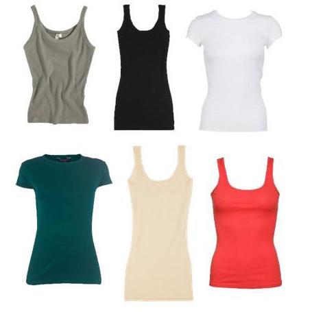 2: camisetas basicas