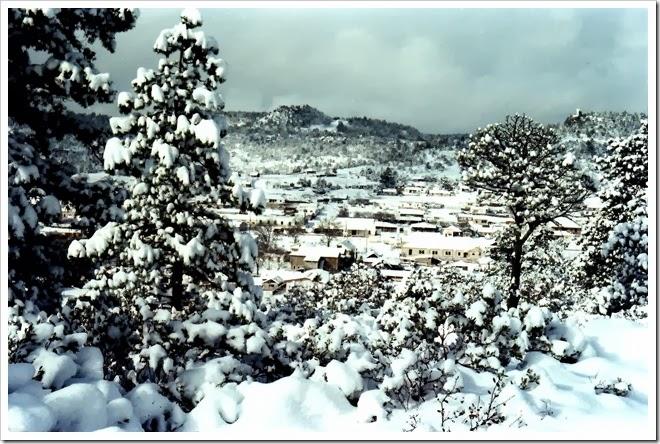 Sierra tarahumara nevada