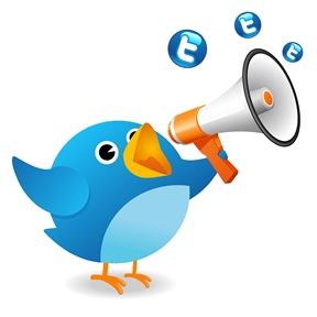 twitter bird blue