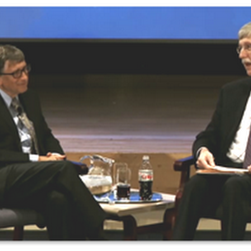Bill Gates Lecture At The NIH: Why The Future Needs Biomedical Innovation