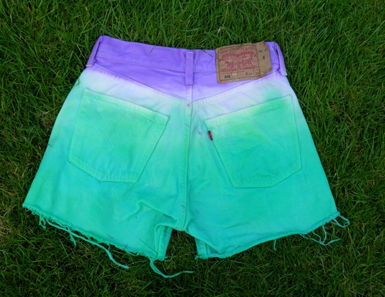 DIP DYE SHORTS 6