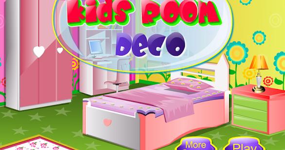 enfants dcoration salle de jeux de fille apk screenshot