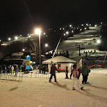 blue mountain skiresort in Collingwood, Ontario, Canada