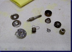 disassembled parts