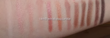 Urban Decay Naked3_swatches