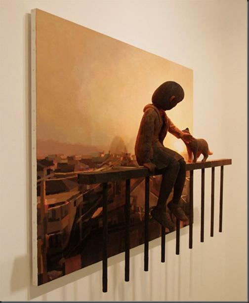 pictura-sculptura 3D