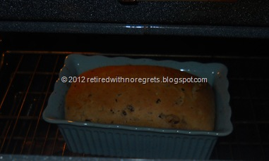 Cinnamon Dried Fruit Bread - Bread Mix - Browning quick - cover  with foil tent