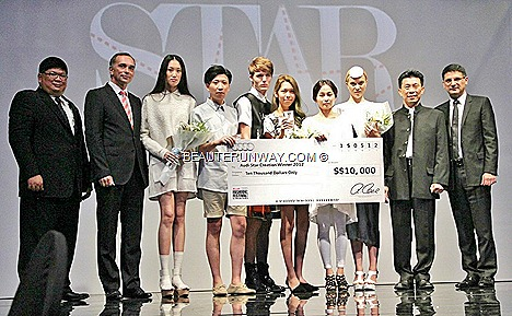 Audi Red Carpet gala 2012 Star Creation Winners Roderic Wong Young Designer Award Soravit Kaewkamon Ko Youngji Natalia Kiantoro