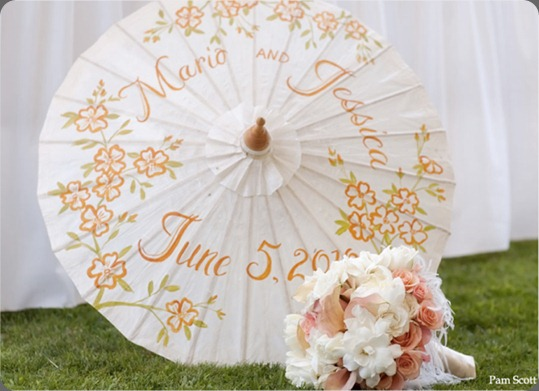 orange-green-wedding-parasol-rancho-santa-fe-inn aileen tran