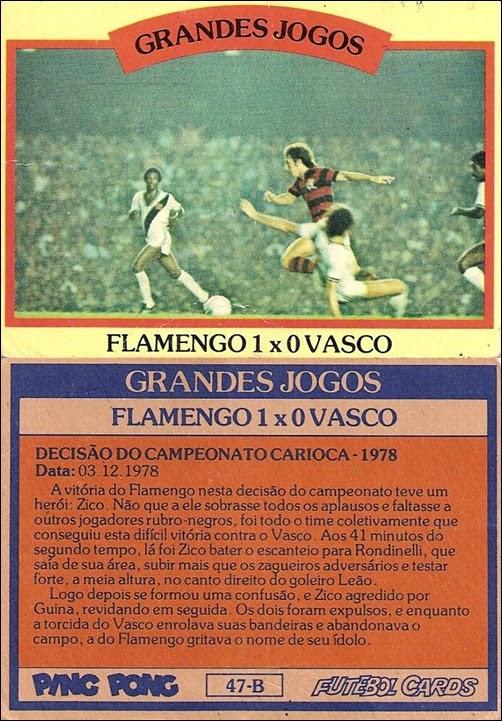 47-B - Flamengo 1x0 Vasco
