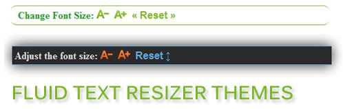 FLUID TEXT RESIZER