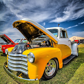 Two Toned Truck by Ron Meyers - Transportation Automobiles