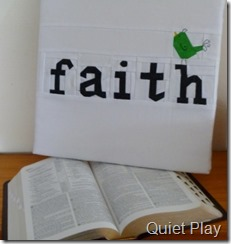 Faith with a verse