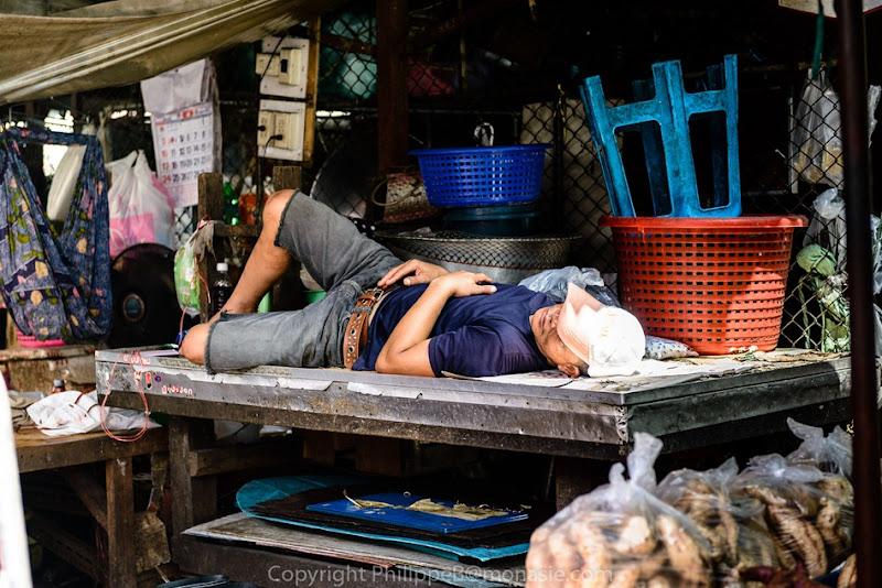 Muslim Area in Nonthaburi Market