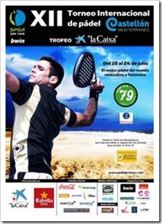 Comienza el XII Torneo Internacional de Pádel Castellón Trofeo La Caixa Bwin PPT 2011.