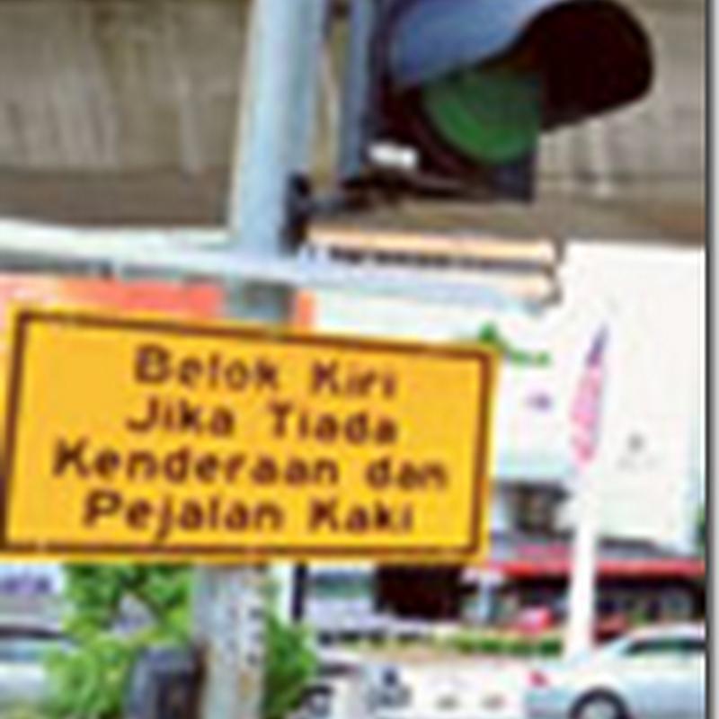 Khas untuk pengguna jalan raya di Kuala Lumpur !