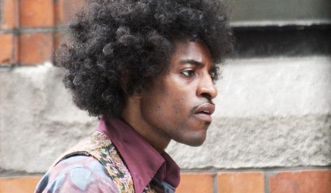 Andre 3000 como Jimi Hendrix em 'All is by my side' (Foto: Divulgação)