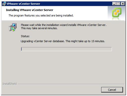 VMware vCenter Server Installer - Installing VMware vCenter Server