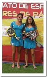 Resultados del Campeonato de España de Pádel Menores 2011 celebrado en Madrid BARBARA Y MARTA.