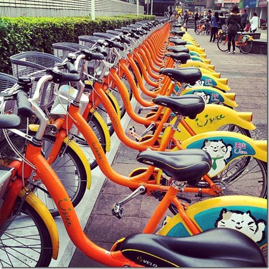U bike停駐